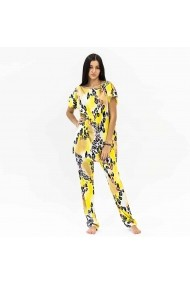 Bluza de casa yellow panter