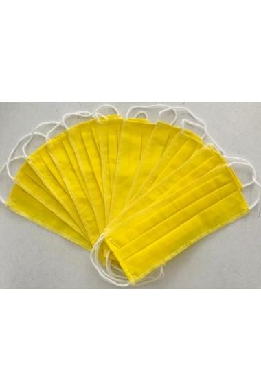Set 20 Masti simple Lewo reutilizabile din bumbac 100%