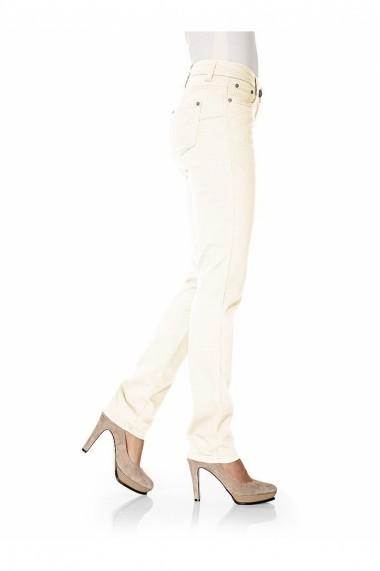 Pantaloni drepti heine CASUAL 160398 alb