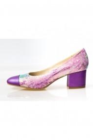 Pantofi cu toc Thea Visconti P 111-18-987 multicolor