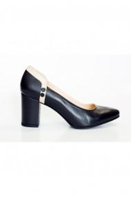 Pantofi cu toc Thea Visconti 411/19/1134 Bleumarin