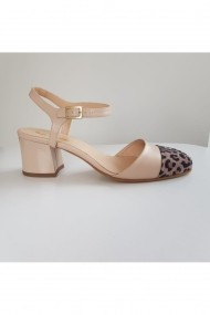 Sandale cu toc Thea Visconti 987/19 Animal Print